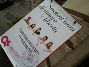 AIED Roma - locandina convegno dei 60 anni dell'associazione