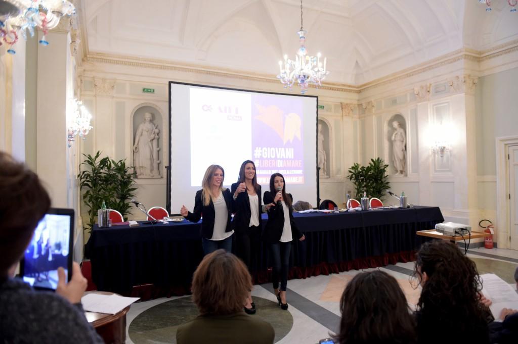 Isabella Bertini, Veronica Cellone, Diana Di Egidio