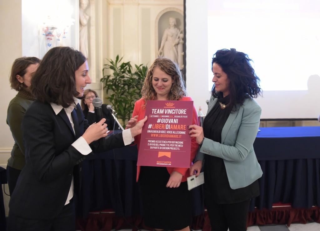 Sara Negrosini, Francesca Mamo e Claudia Pellicori