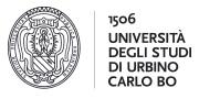 Università degli studi di Urbino Carlo Bo