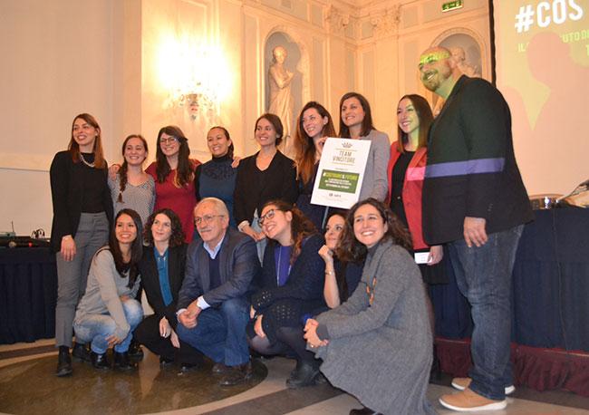 finalisti e staff #costruireilfuturo
